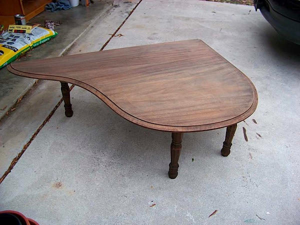 How-To: Piano lid coffee table