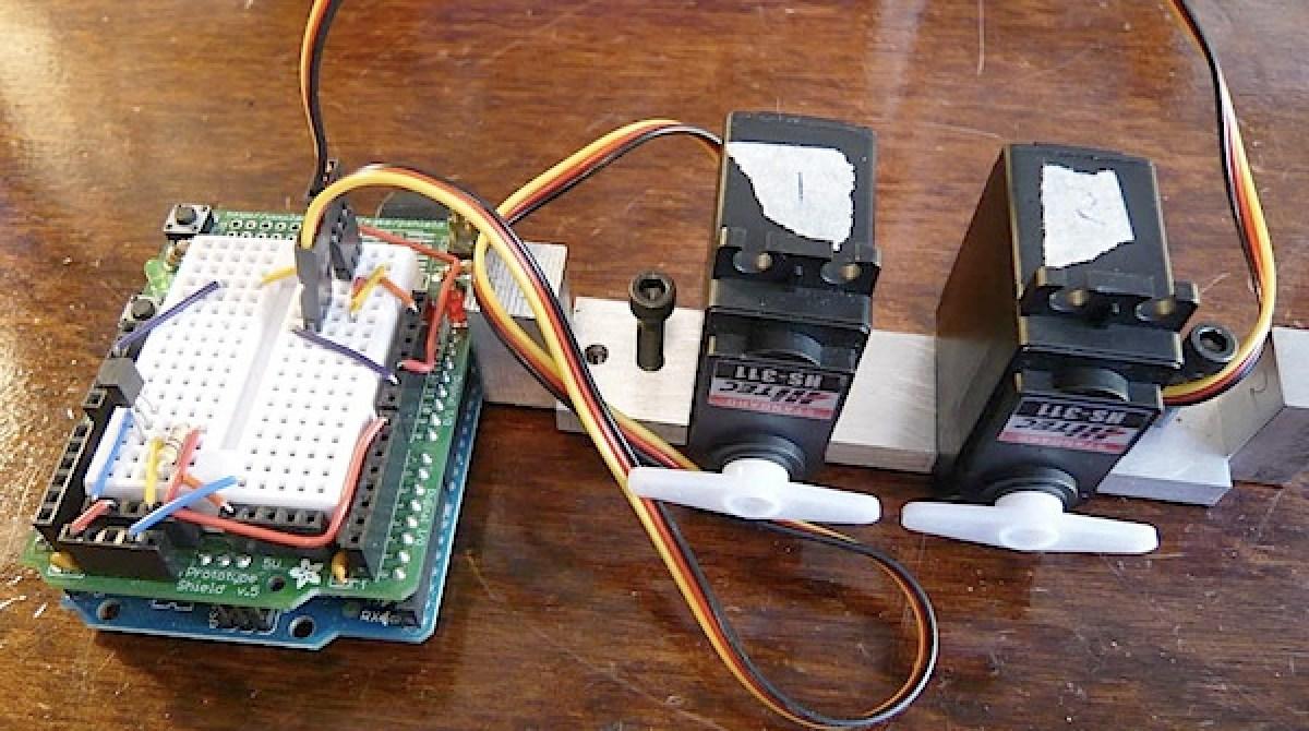 Arduino HVAC servo thermostat | Make: