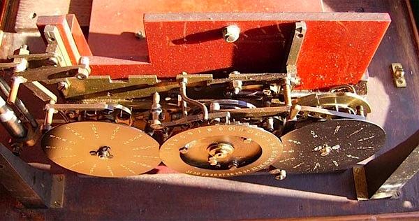 Uniselector clock of unknown origins