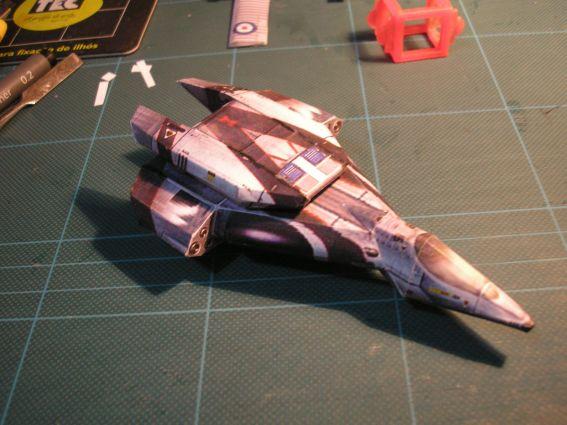 Wing Commander papercraft