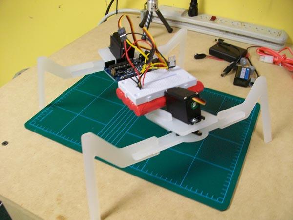 Beginning robot walker