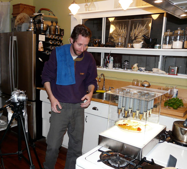 Molecular gastronomy at Maker Faire Bay Area