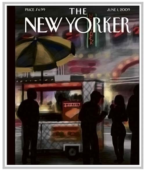 The New Yorker cover art produced on iPhone
