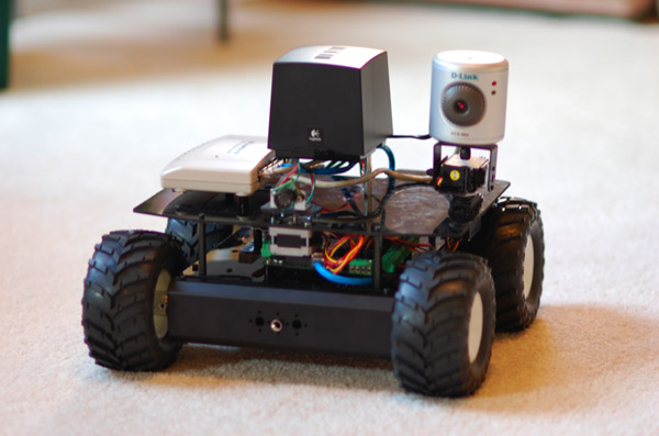 Robot based on the MAKE Controller