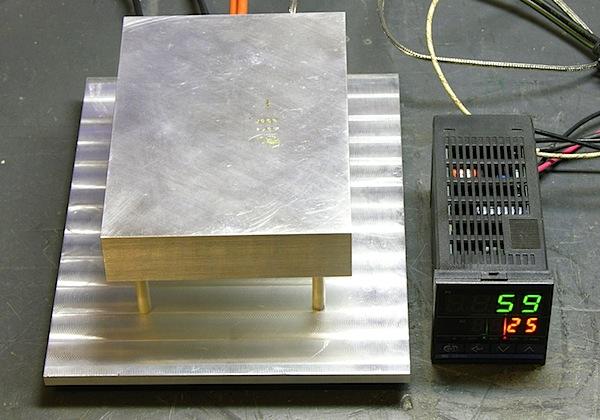 DIY PIDcontrolled solder hotplate  Make