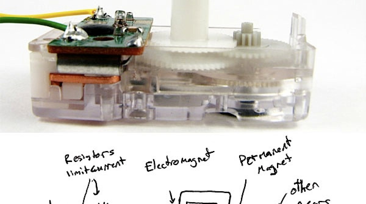 How-To: Control a clock mechanism with Arduino | Make: