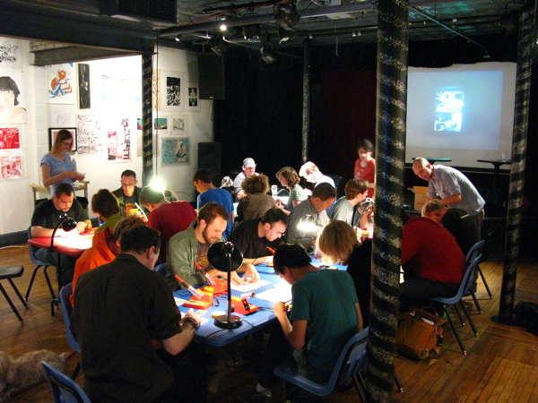 AS220 Labs at next week's Providence Geek Dinner