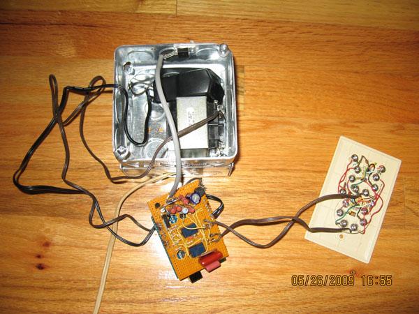 Arduino based telephone Intercom