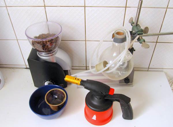 Lo-tek coffee vacuum siphon brewer