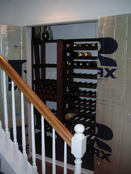 How-To: Closet wine cellar conversion