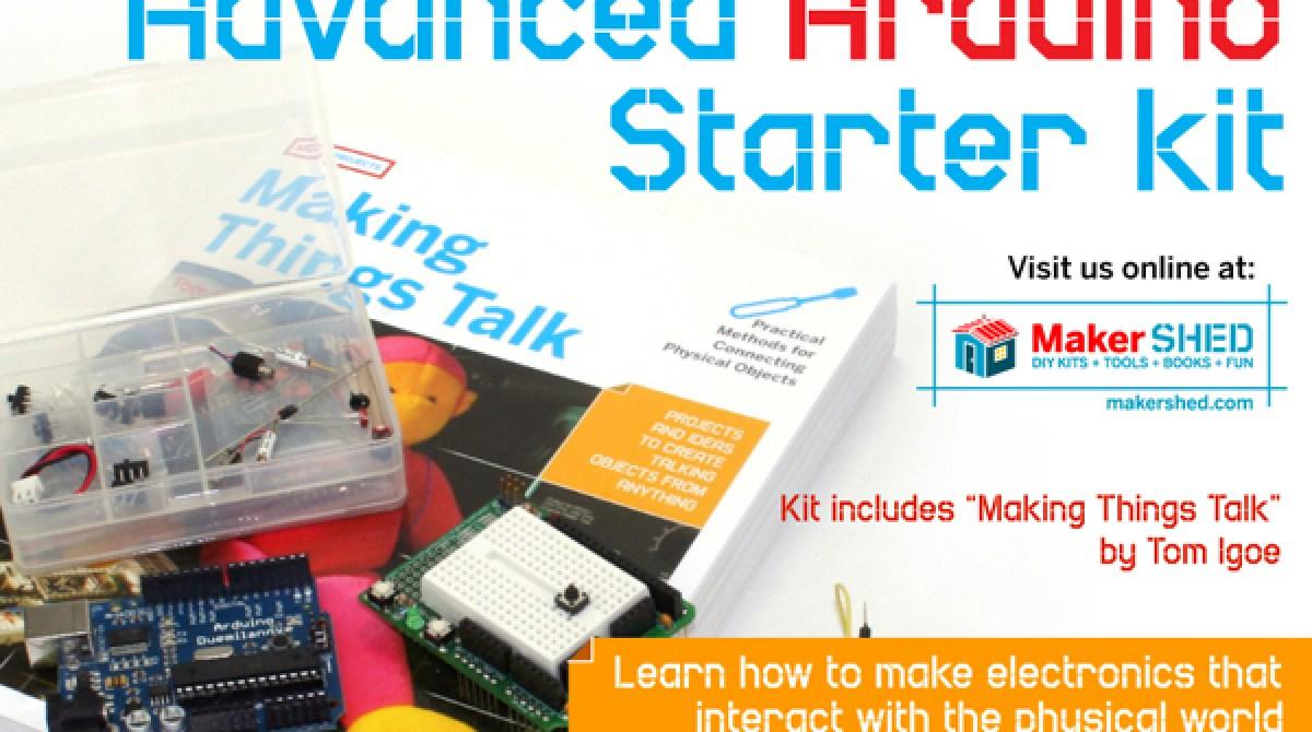In the Maker Shed: Advanced Arduino Starter Kit | Make: