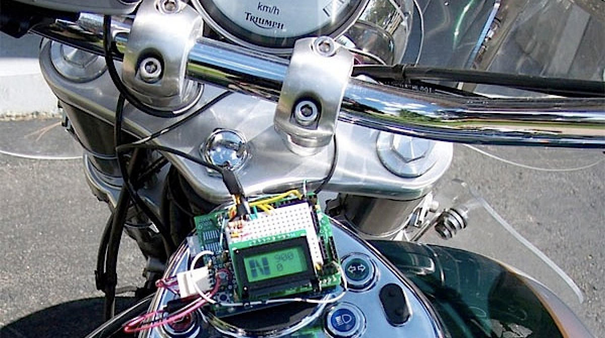 Motorcycle Control Panel With Arduino Make