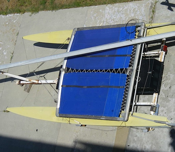 How-To: Sew a catamaran trampoline