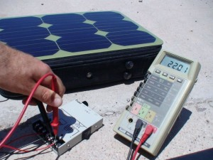How-To: Charge 12v batteries with a Voltaic 15-watt panel