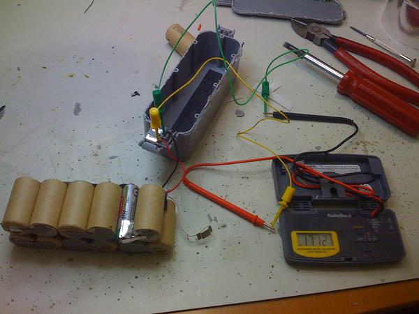 Replacing dead batteries in a iRobot Dirt Dog
