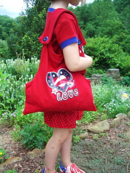 How-To: Make a Kid's T-Shirt Tote