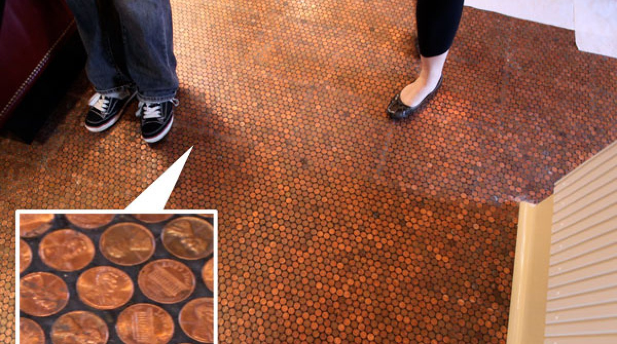 Pennies Per Square Foot Literally Make