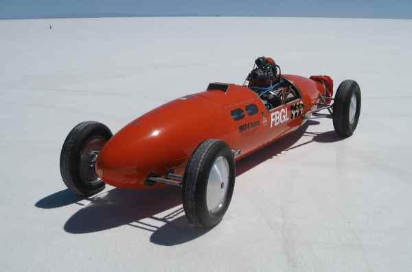Speed Week at Bonneville Salt Flats
