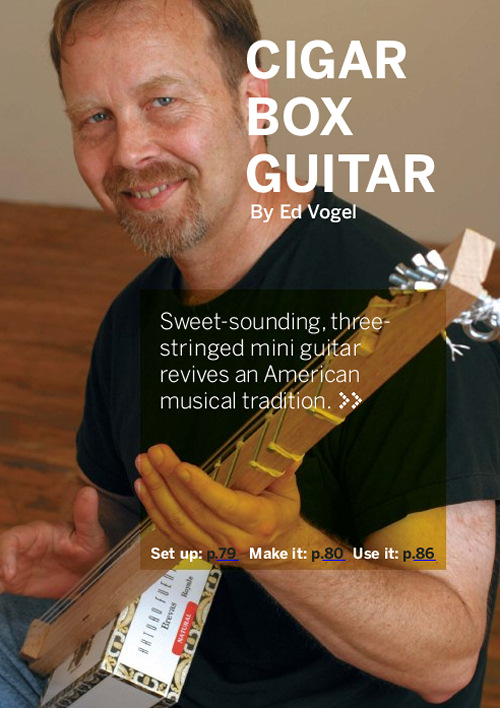 Weekend Project: Electric Cigar Box Guitar (PDF)