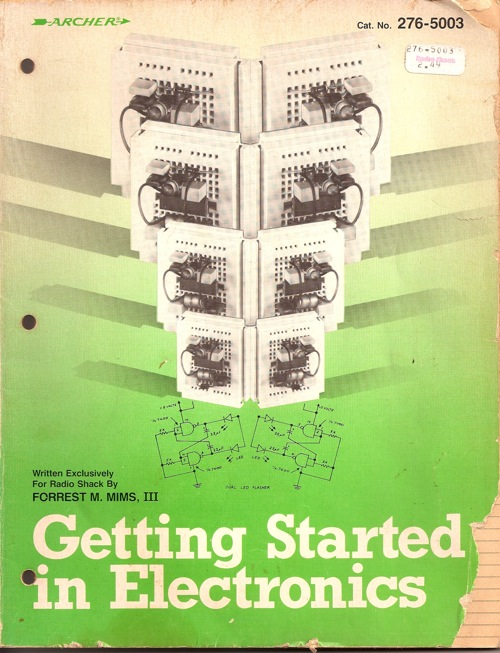 The story of Getting Started in Electronics
