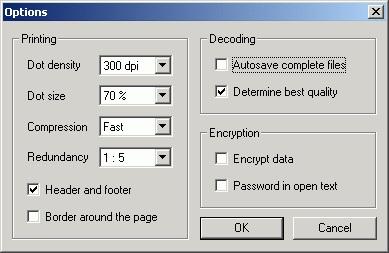 PaperBack – paper based backups
