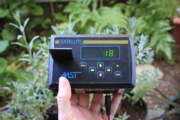 DIY air sampler