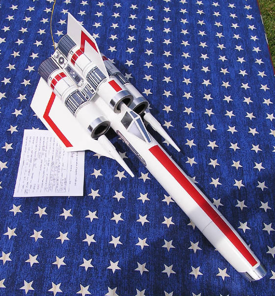 Scratch-Built Colonial Viper Model Rockets | Make: