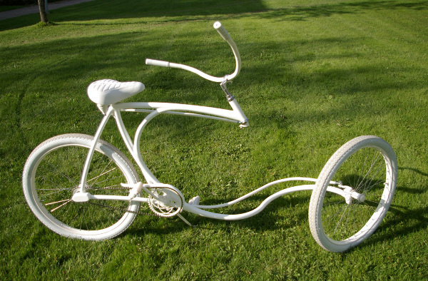 Forkless bike from Finland