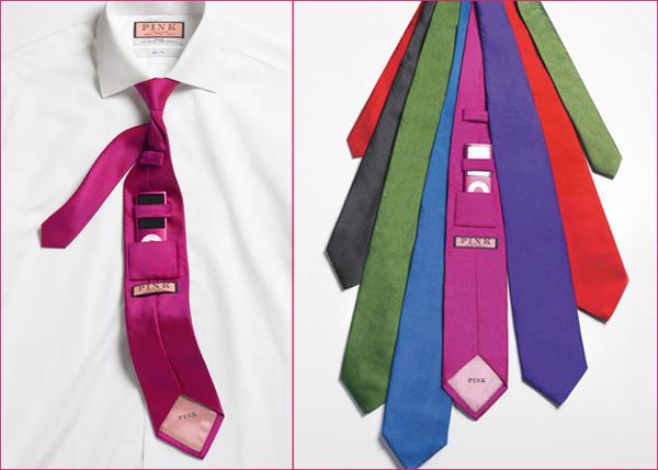Re-make:  Tie with hidden iPod stash