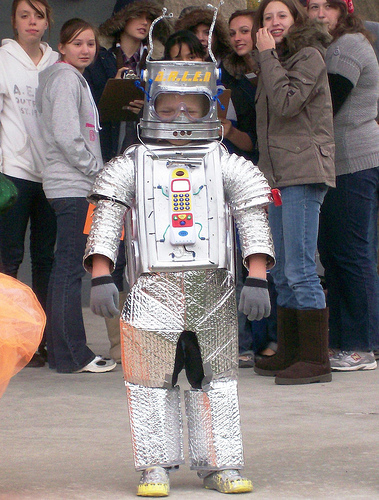 Sweet kid's robot costume
