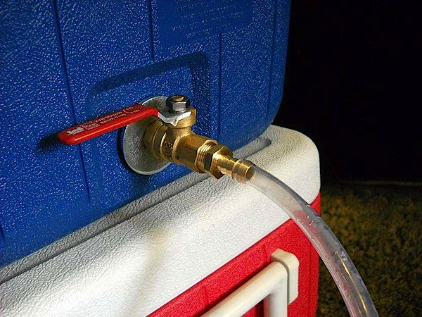 How-To: Install a ball valve on a cooler