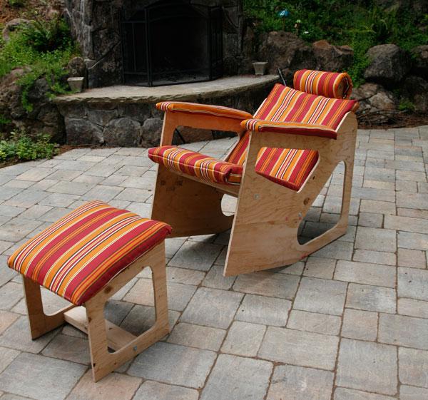 Ken Wallich's Rok-Bak chair