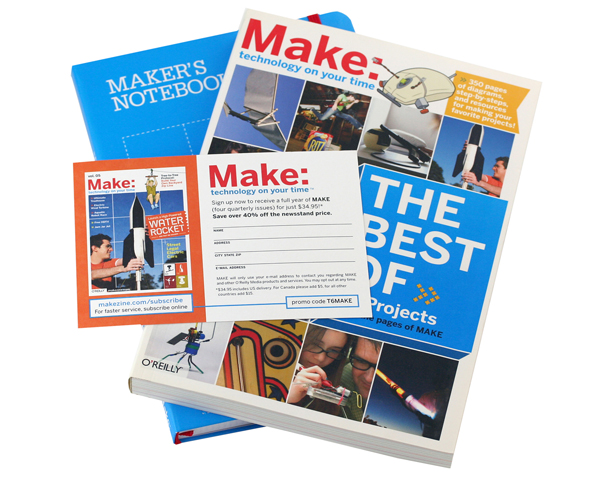 In the Maker Shed: Welcome to MAKE bundle