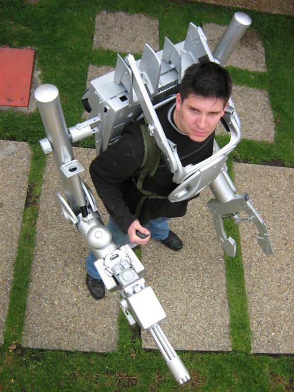 Exoskeleton costume