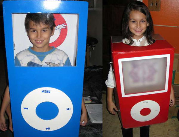How-To:  His and hers matching iPod costumes