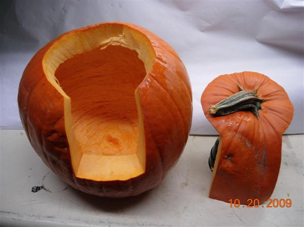 How to cut a pumpkin 53