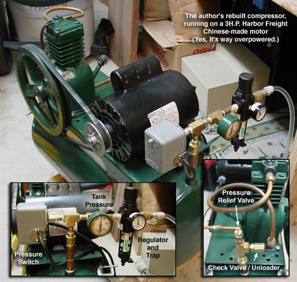 How-To:  Compressed air system for haunt props