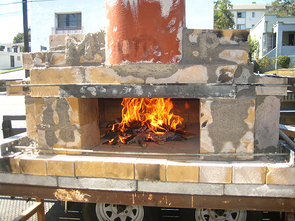 How-To: Build a temporary wood-fired pizza oven