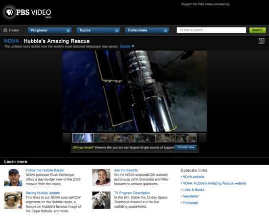 Hubble's Amazing Rescue @ NOVA – PBS Video