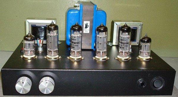 DIY stereo tube amp