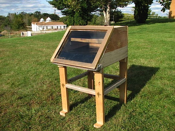How-To: Solar food dehydrator