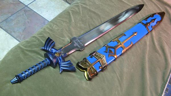 OMG Zelda prop sword