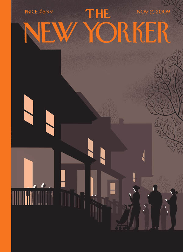 Chris Ware's Halloween cover commentary