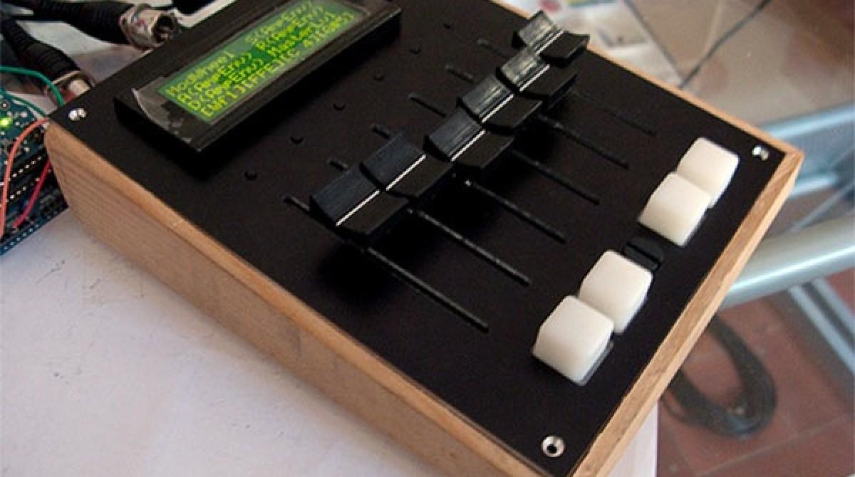 MIDI fader controller with Arduino | Make: