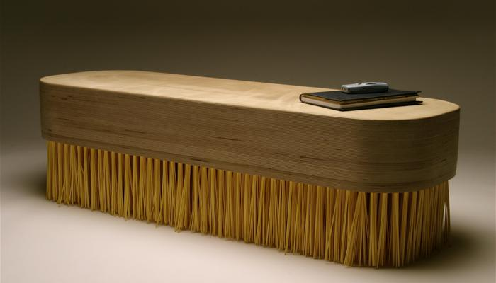 Brush furniture could become bristlebot