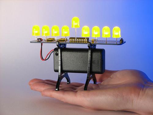 Deluxe LED Menorah Kit from EMSL