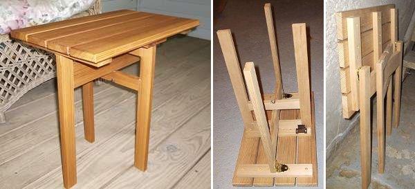 Building a folding table
