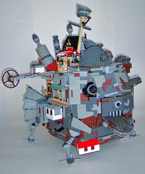 Howl's Moving Castle in Lego