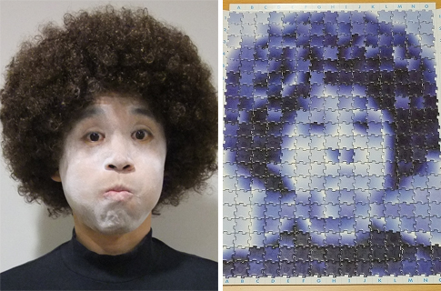 A puzzle that can be anyone's face: Jicazu