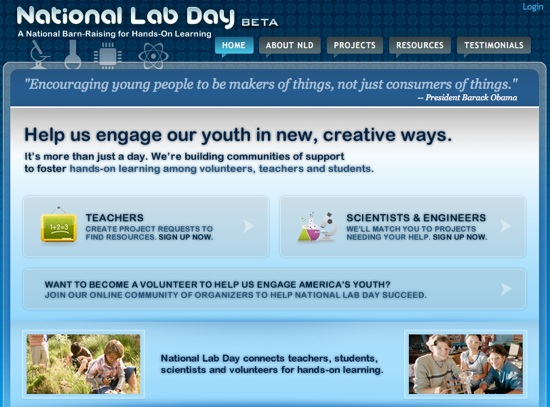 MAKE and National Lab Day
